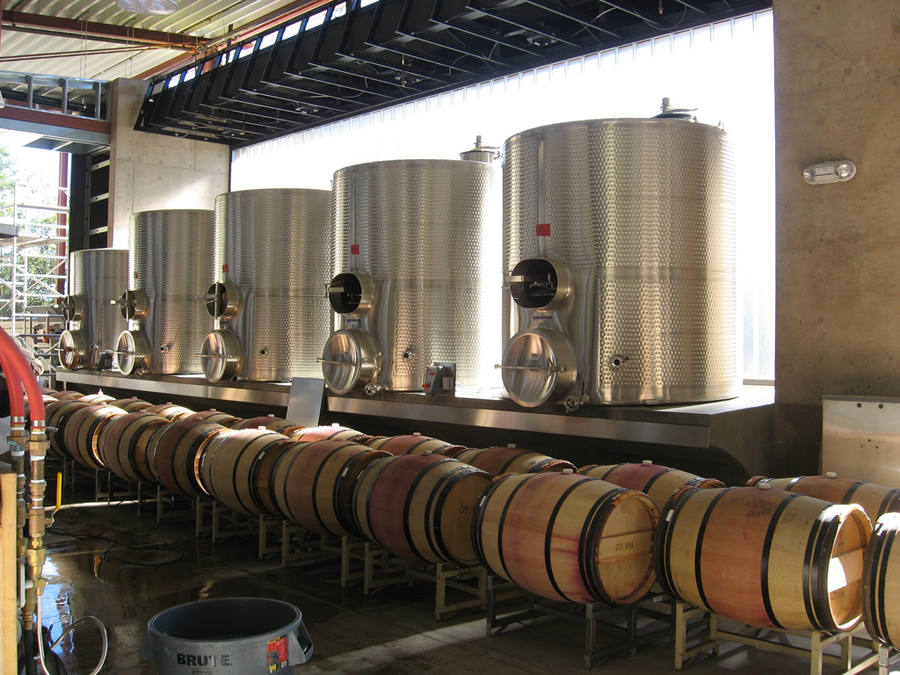 Fermenting Tanks and Barrels
