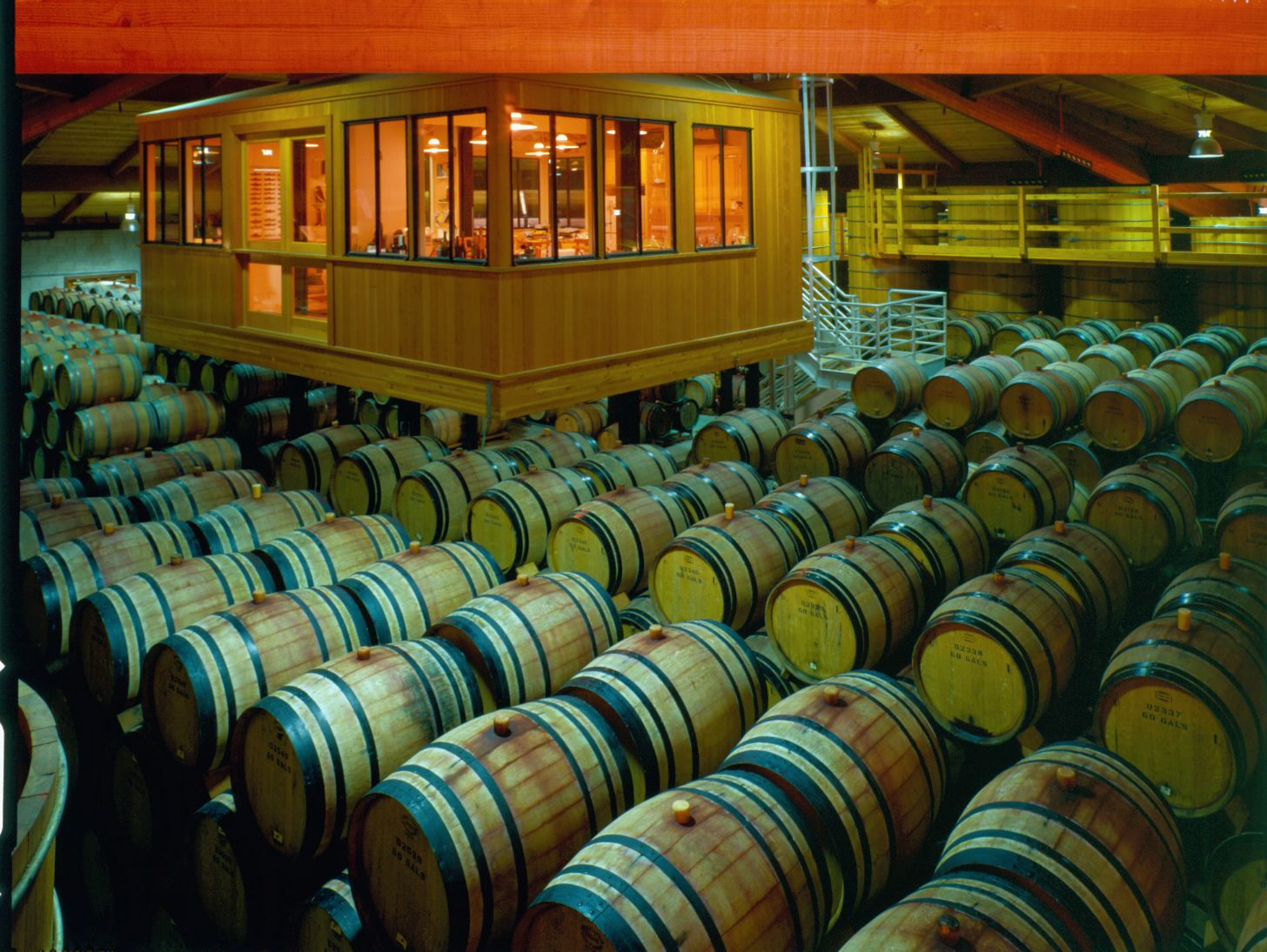 Heitz Wine Lab and Barrels