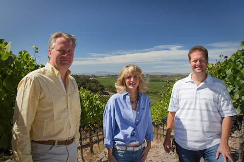 Owners Mattias Stolpe, Laura Stolpe and Reed Renaudin