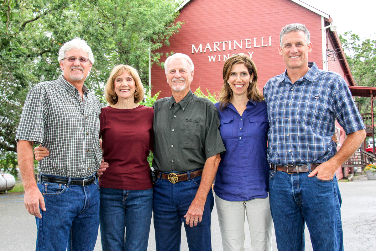 Martinelli Farm Family of the Year pic by Farm Bureau